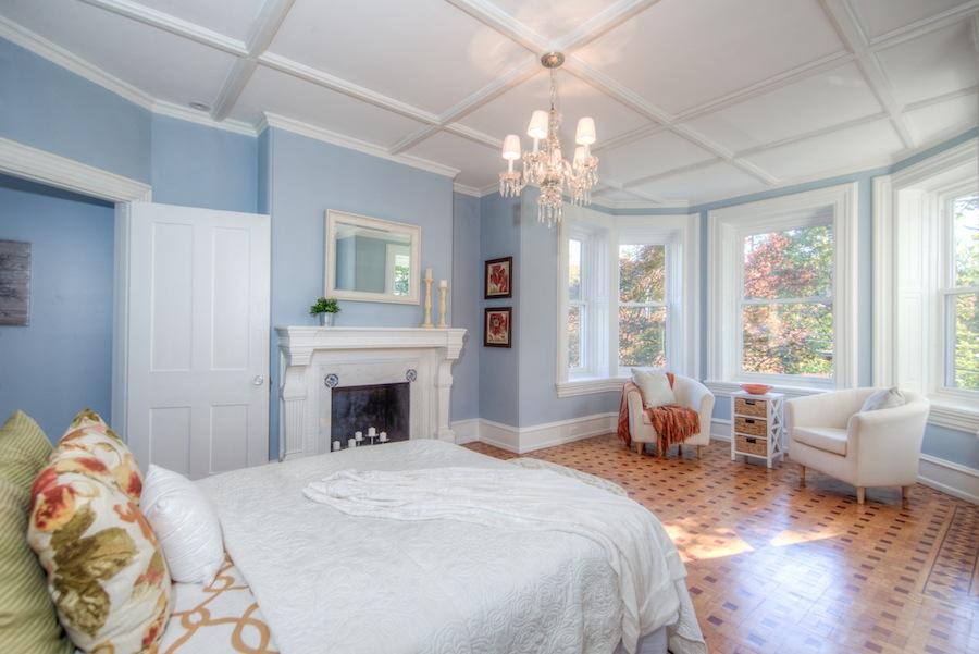 house for sale chestnut hill restored victorian master bedroom