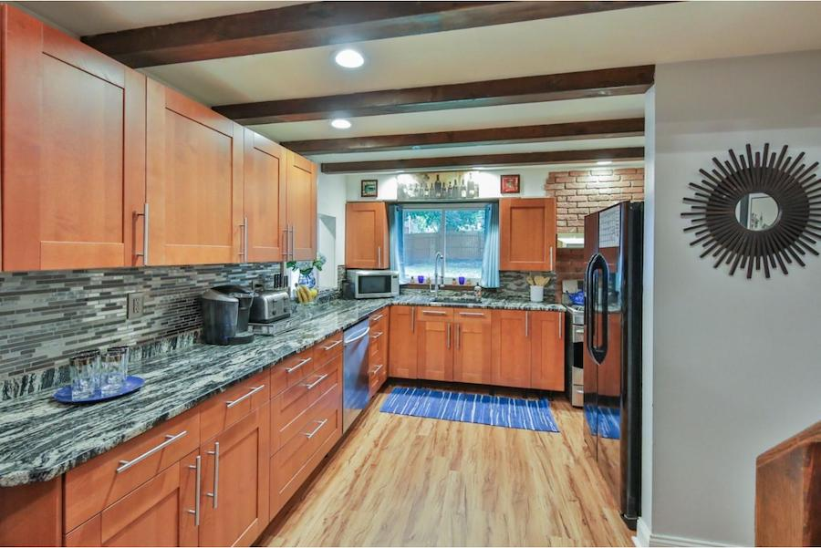 house for sale elkins park expanded farmhouse kitchen