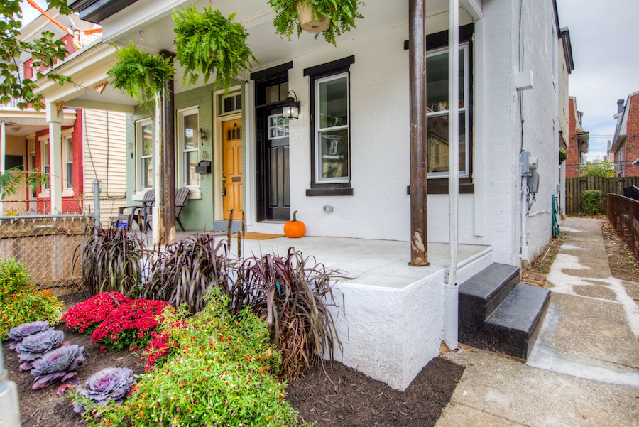 house for sale germantown rehabbed twin exterior front