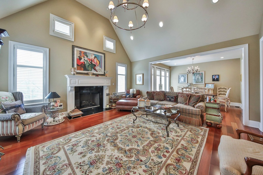 house for sale haverford modern colonial chateau family room