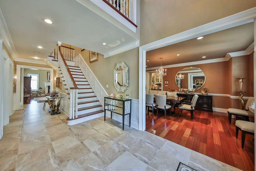 house for sale haverford modern colonial chateau foyer