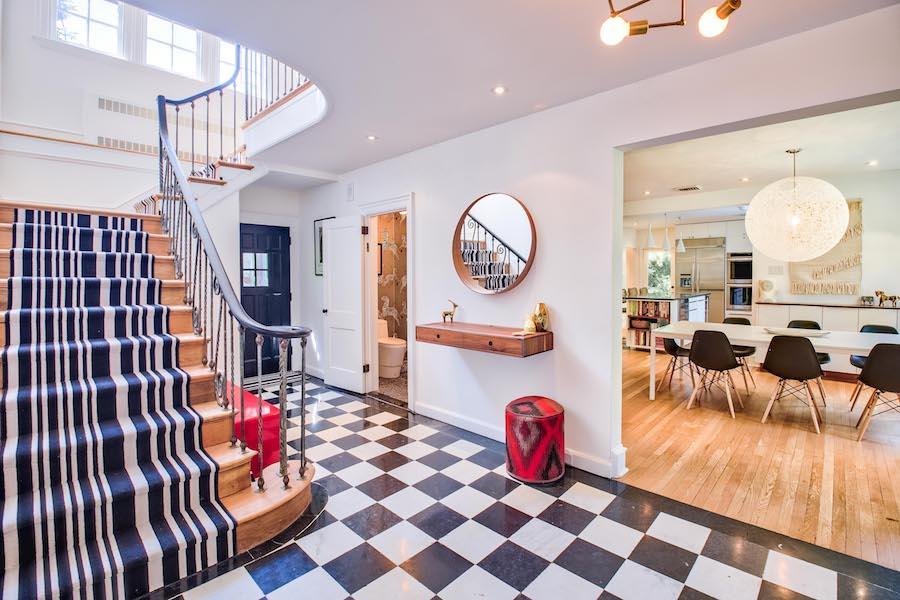 house for sale merion station modern tudor foyer & House for Sale: Modern Tudor Manse in Merion Station