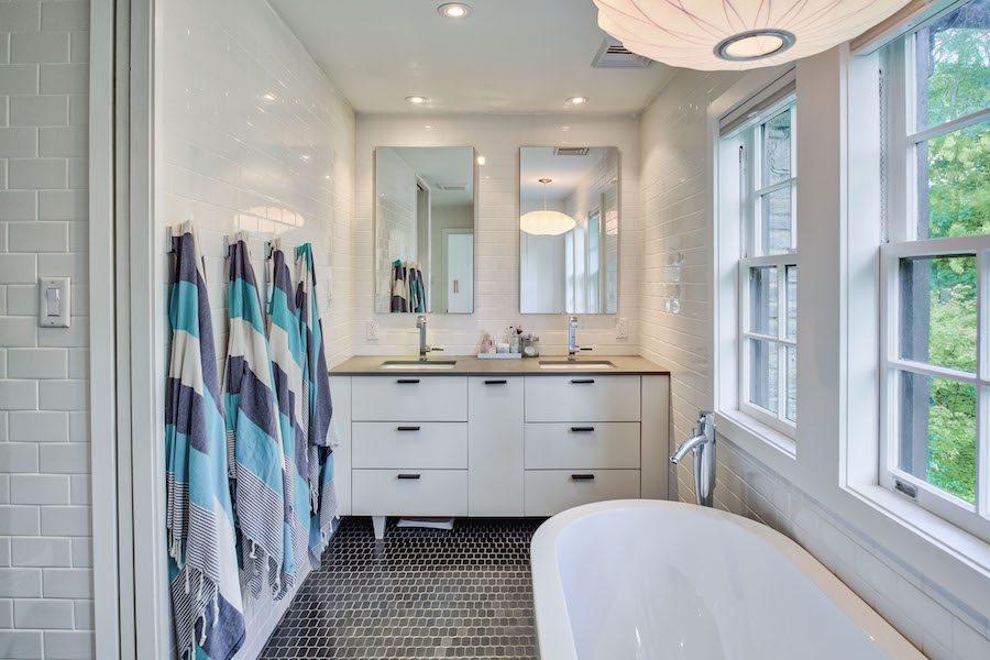 house for sale merion station modern tudor master bathroom