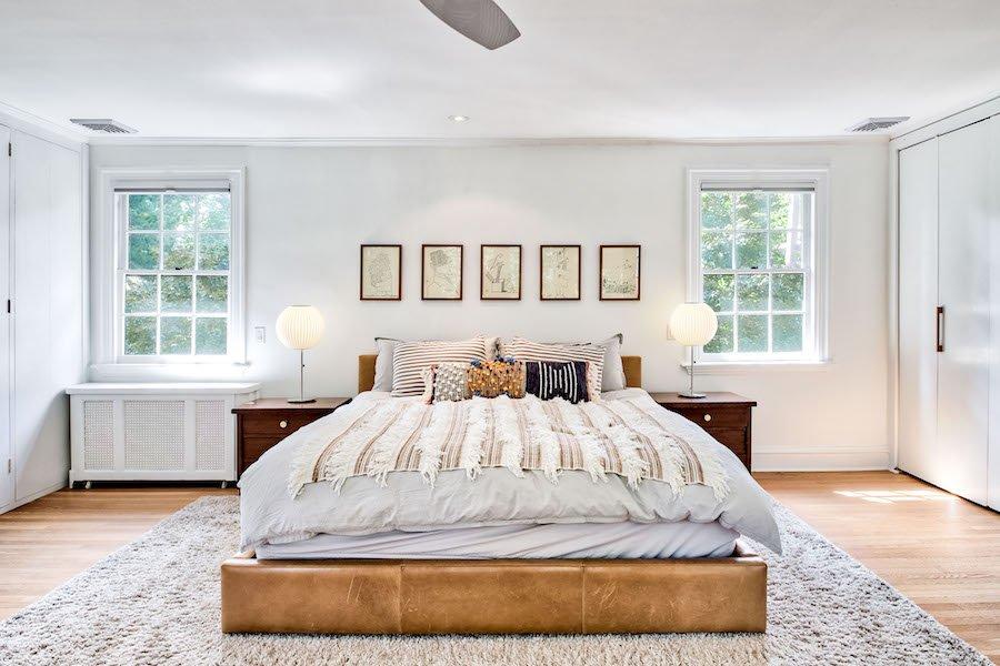 house for sale merion station modern tudor master bedroom