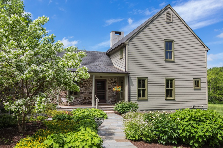 house for sale new hope expanded farmhouse barn residence
