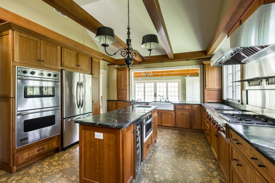 house for sale new hope expanded farmhouse kitchen