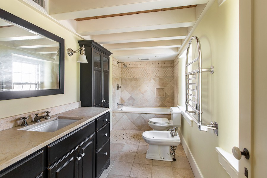 house for sale new hope expanded farmhouse master bathroom