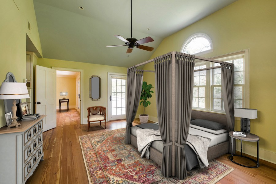 house for sale new hope expanded farmhouse master bedroom