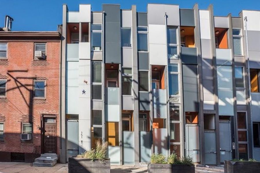 house for sale northern liberties leed platinum condo exterior front