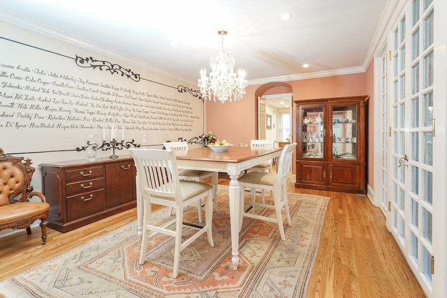house for sale rittenhouse airbnb townhouse dining room