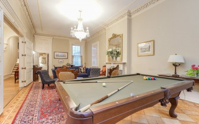 house for sale rittenhouse airbnb townhouse living room