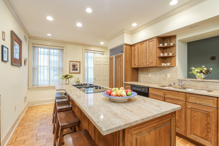 house for sale rittenhouse airbnb townhouse kitchen