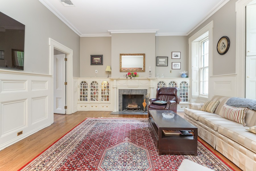 house for sale rittenhouse airbnb townhouse library