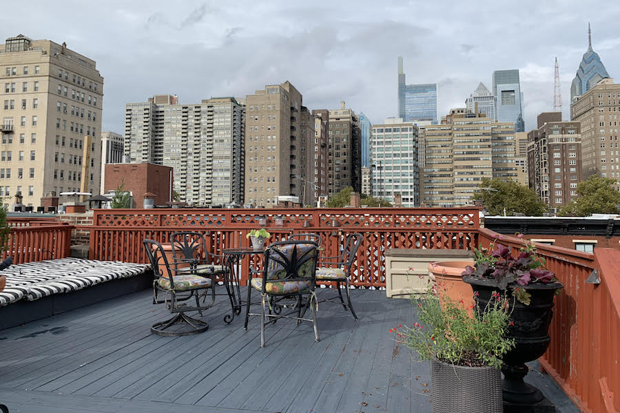 house for sale rittenhouse airbnb townhouse roof deck