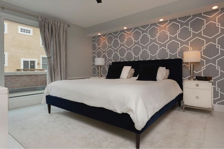 condo for sale society hill abbotts square townhouse master bedroom
