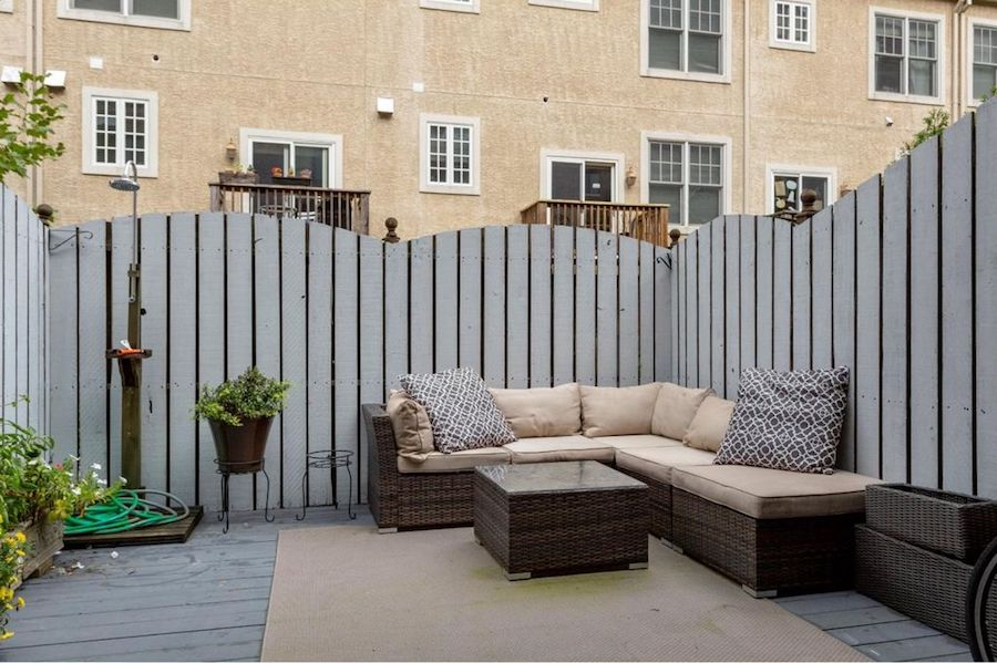 condo for sale society hill abbotts square townhouse patio