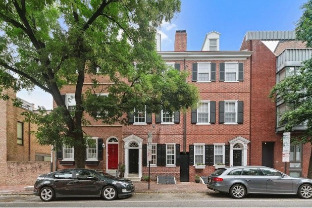 house for sale society hill federal loft front elevation