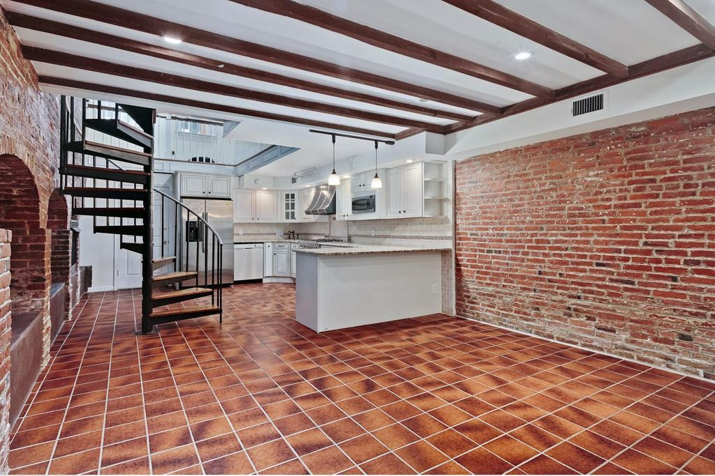 house for sale society hill federal loft dining area and kitchen