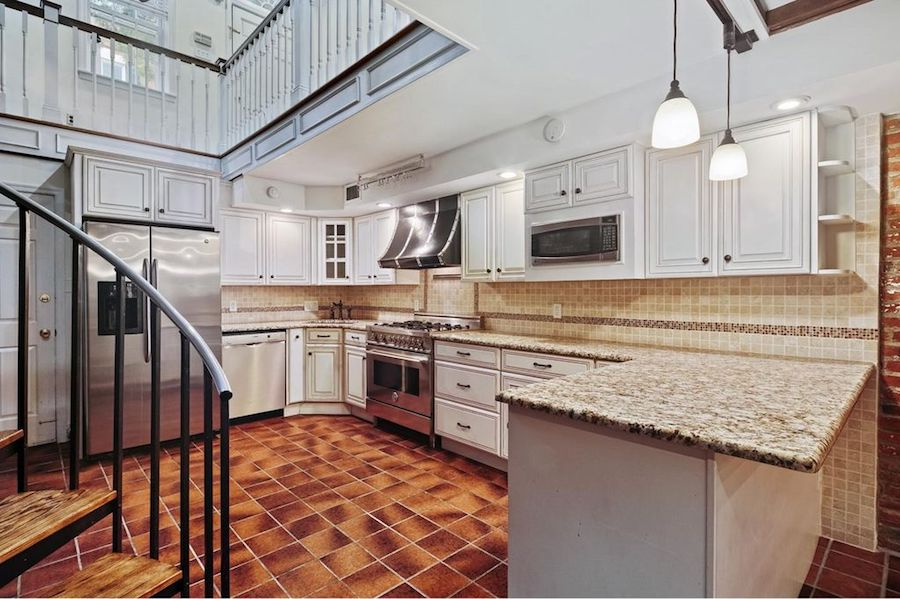 house for sale society hill federal loft kitchen
