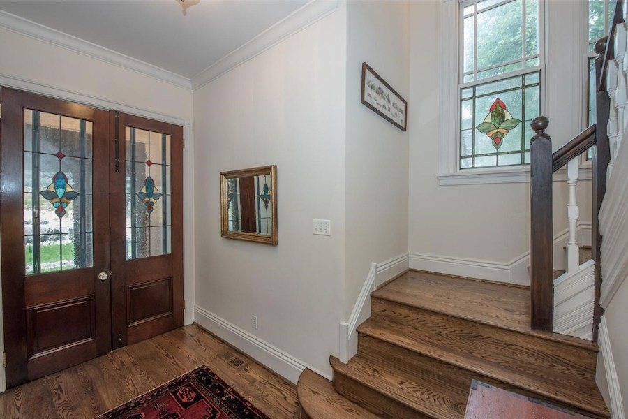 house for sale wayne victorian foyer