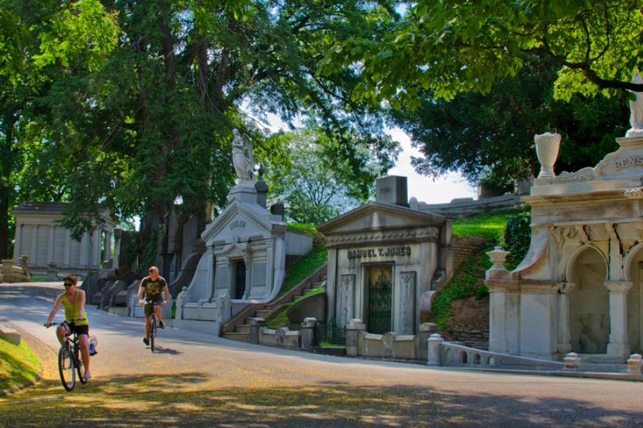 yoga cemetery