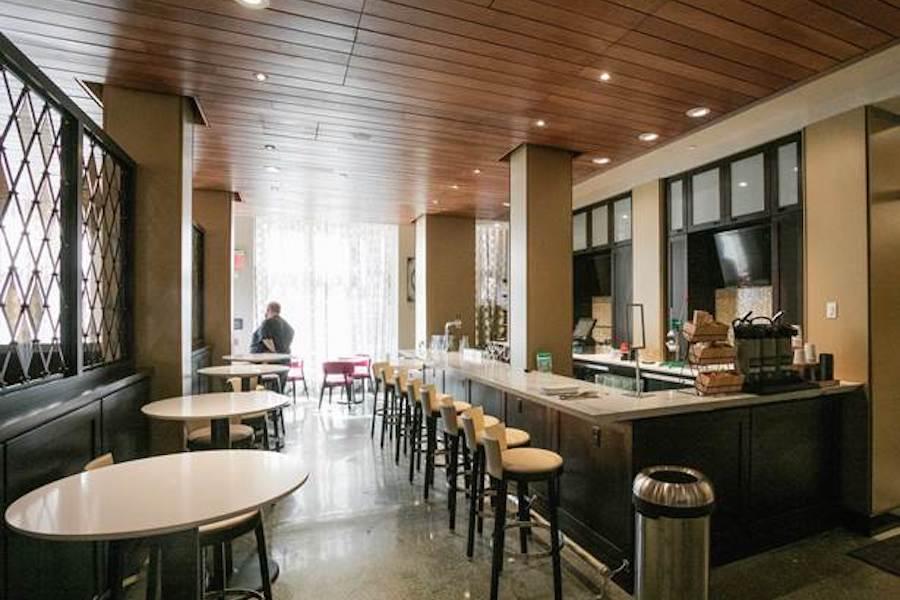 parker spruce hotel fairfield inn makeover libertine bar
