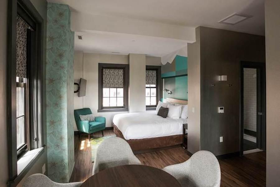 parker spruce fairfield inn makeover hotel room