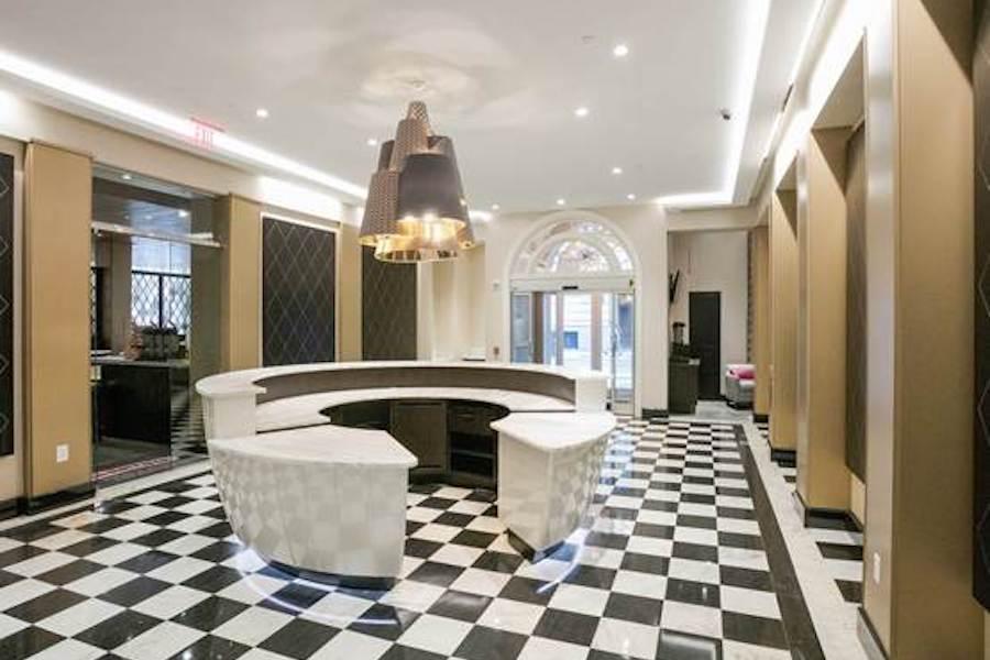 parker spruce hotel fairfield inn makeover hotel lobby