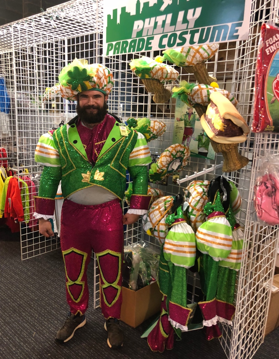 philly parade costume jason kelce gritty costume halloween