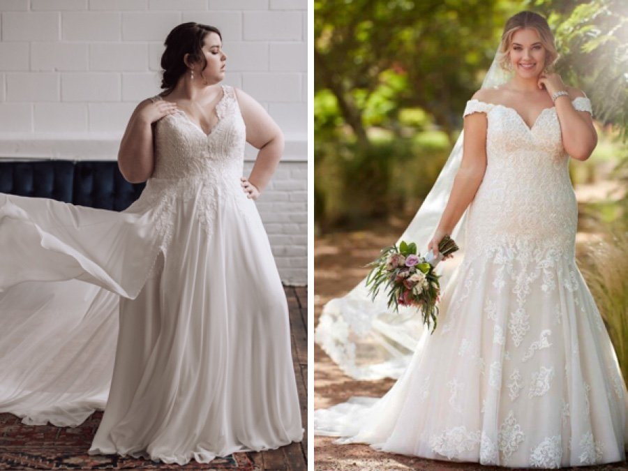 The Best Bridal Salons For Plus Size Wedding Dresses In Philadelphia