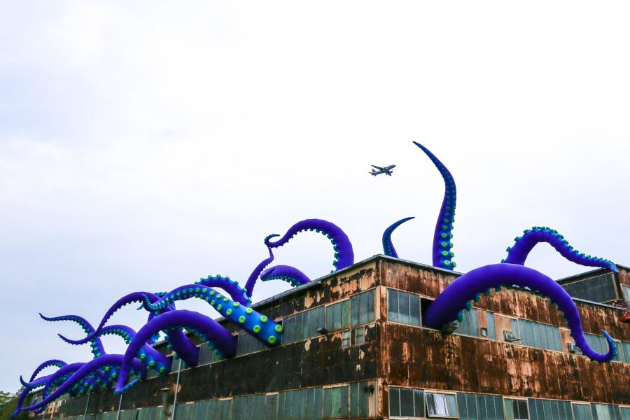 sea monsters here navy yard