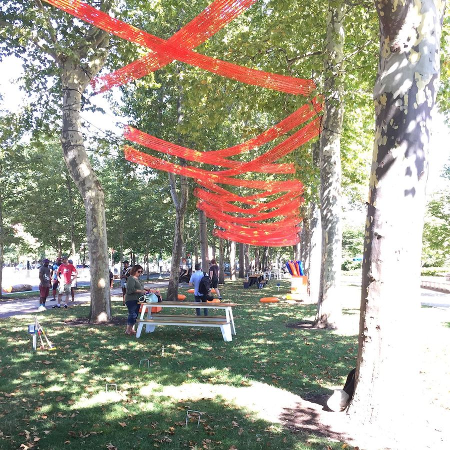 sensory design shiftspace barnes installation