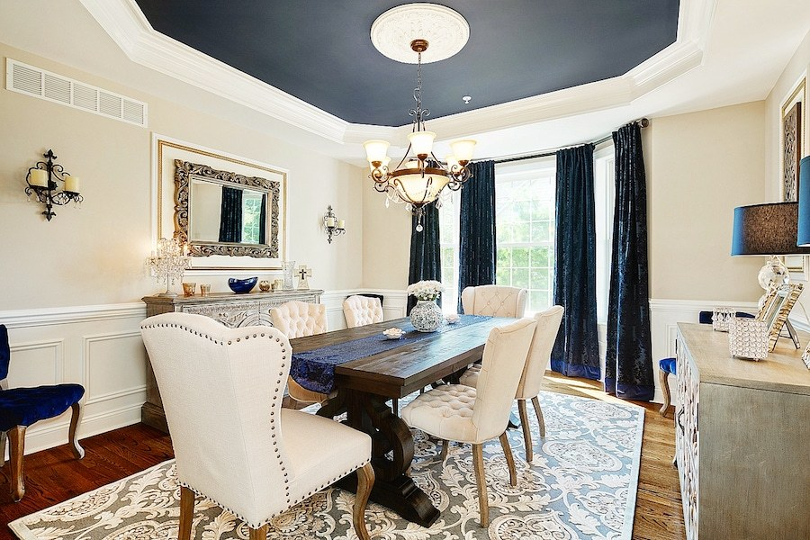 trust the vision decor neoclassical dining room