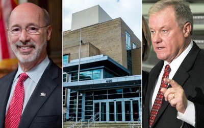 tom wolf, scott wagner, governor's race