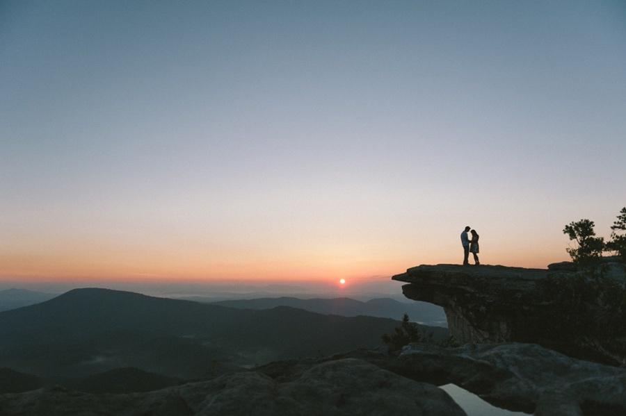 mcafee knob engagement photo