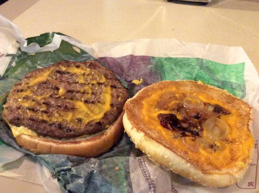 burger king cheesesteak burger 3