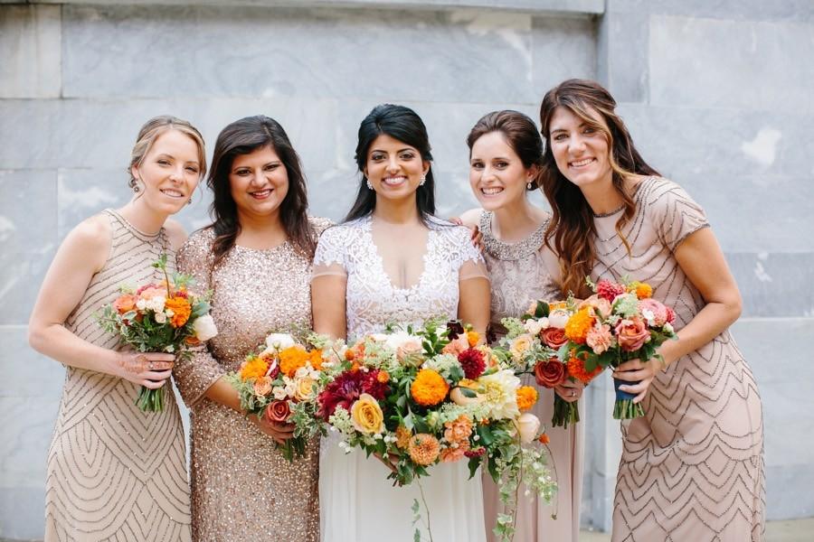 champagne-bridesmaid-dresses-2