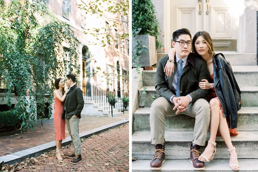 delancey street engagement photos