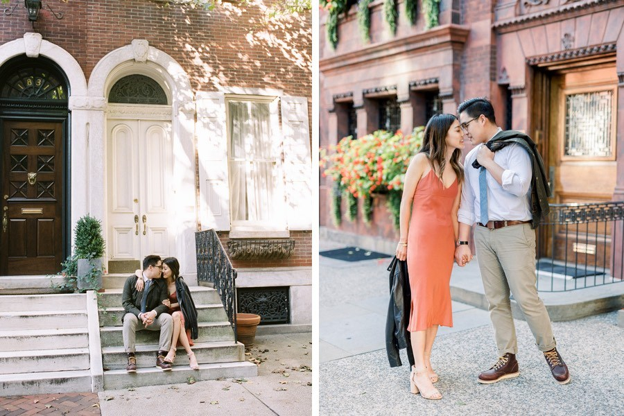 delancey street engagement photos philadelphia