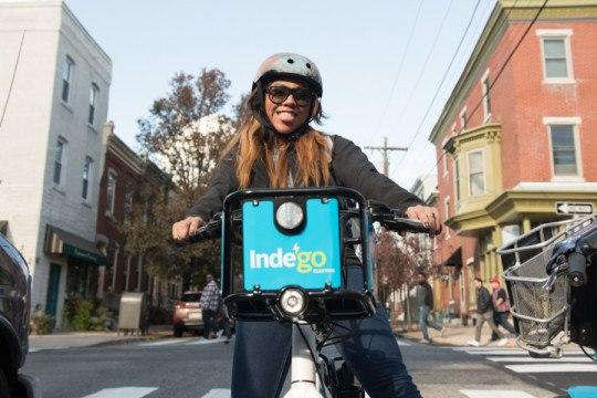 electric bikes indego