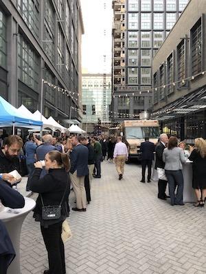 east market ribbon-cutting block party
