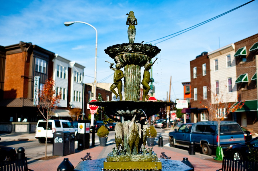 east passyunk neighborhood guide singing fountain