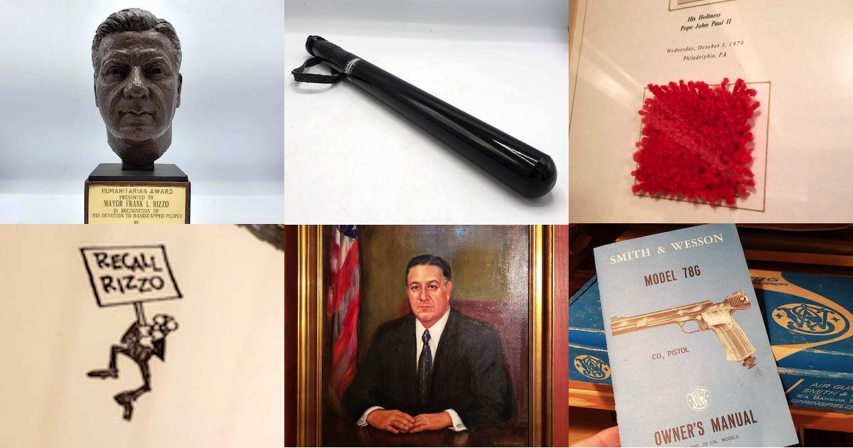 You Can Now Own Frank Rizzo's Nightstick, Rolodex — and House