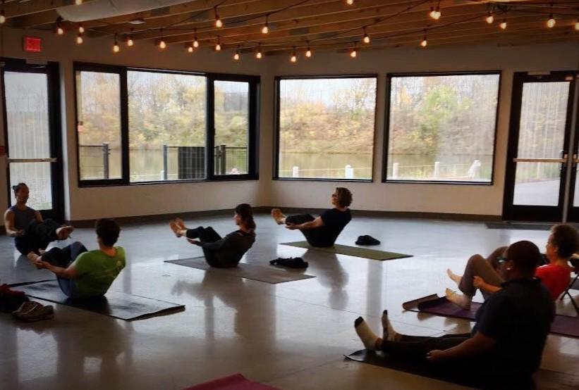 Discovery Center free yoga