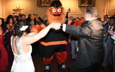 Gritty wedding crash