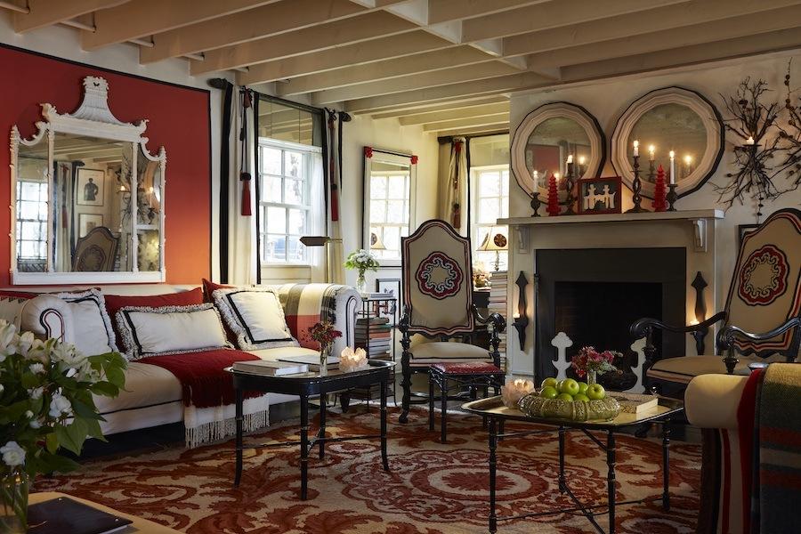 haute bohemians mcevoy living room