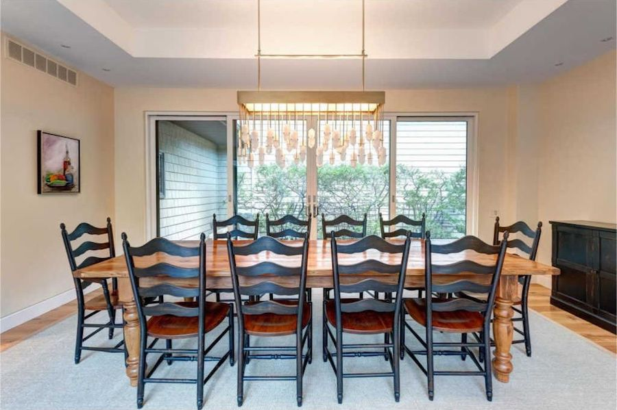house for sale chadds ford modern villa dining room