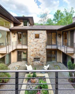 house for sale chadds ford modern villa courtyard