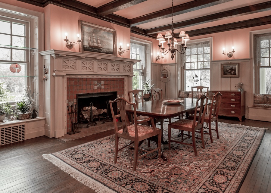 house for sale devon colonial revival dining room