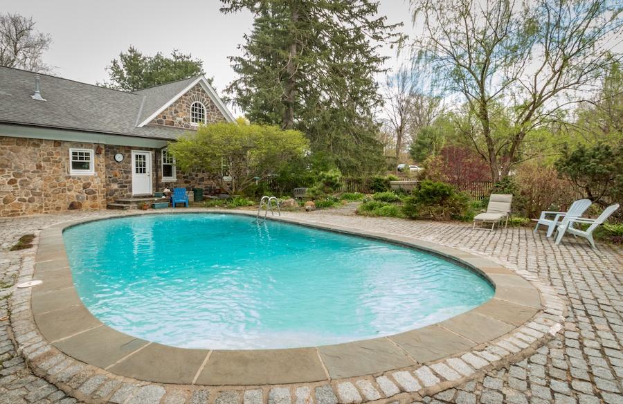 house for sale devon colonial revival pool
